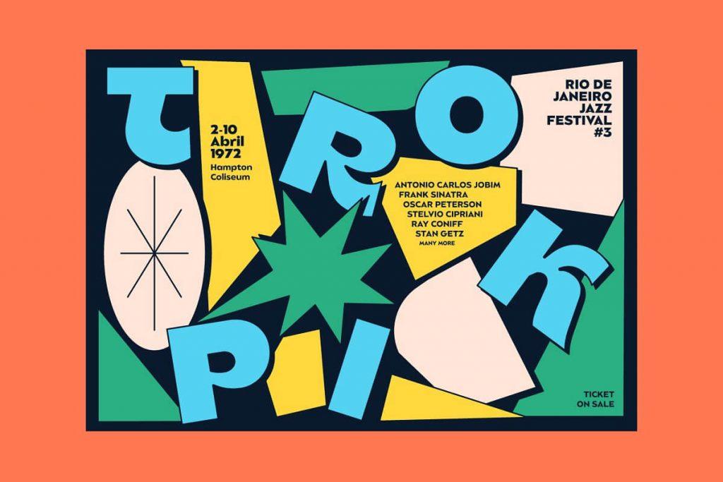 Balgin - Summer Festival Type Poster example