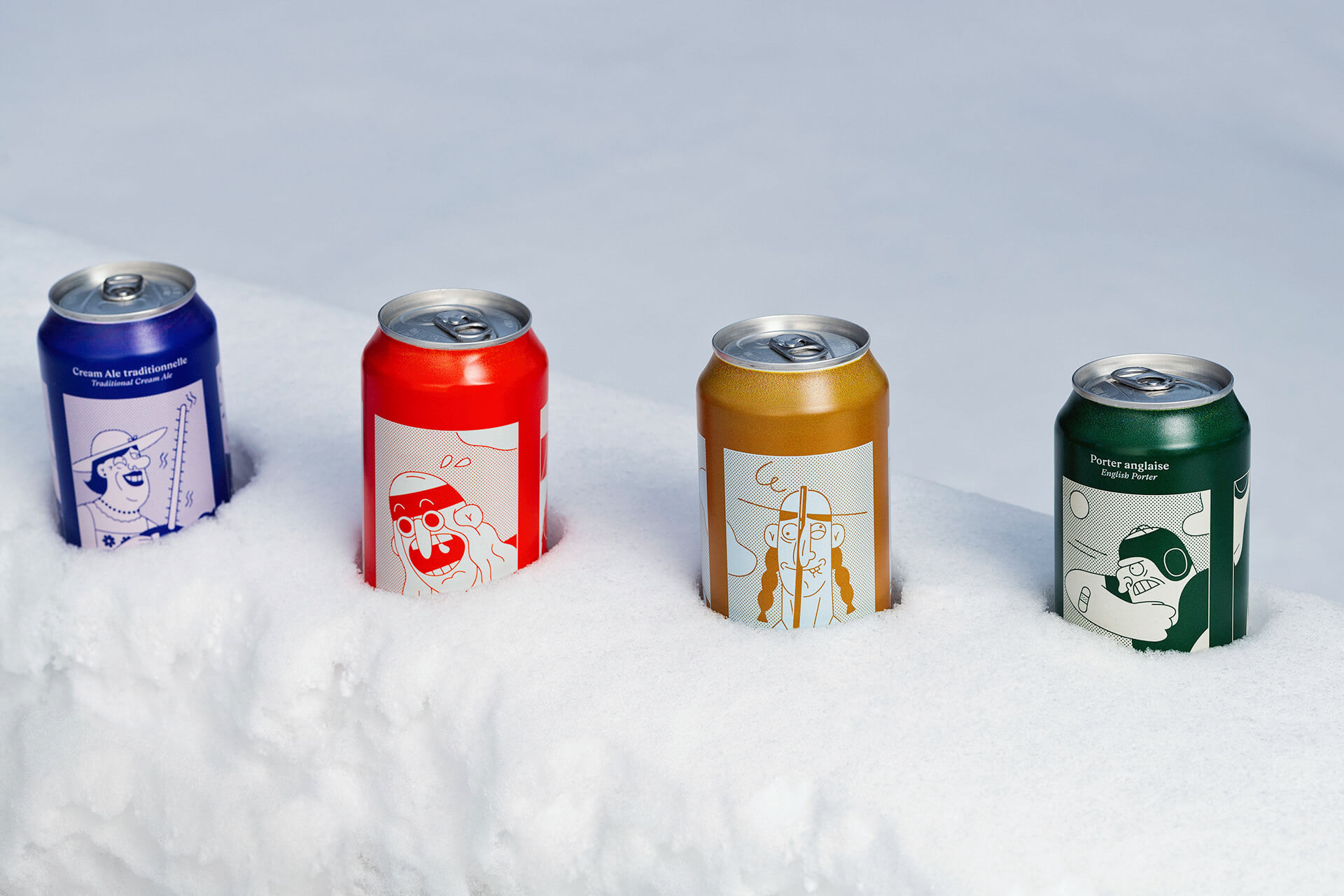 La Knowlton Co Beer Can Design