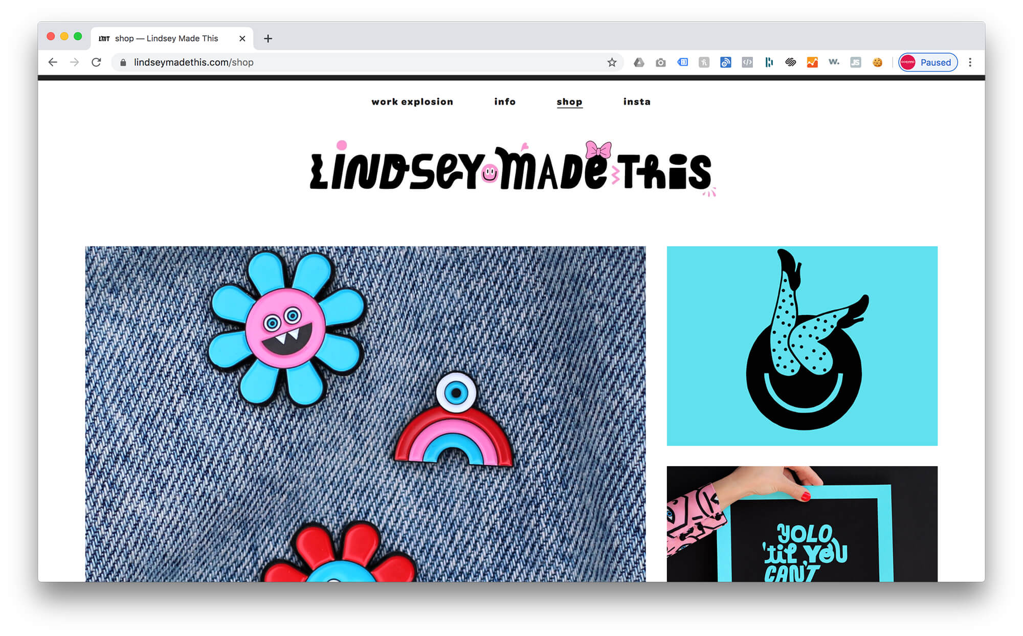 Lindsey Made This - Shop