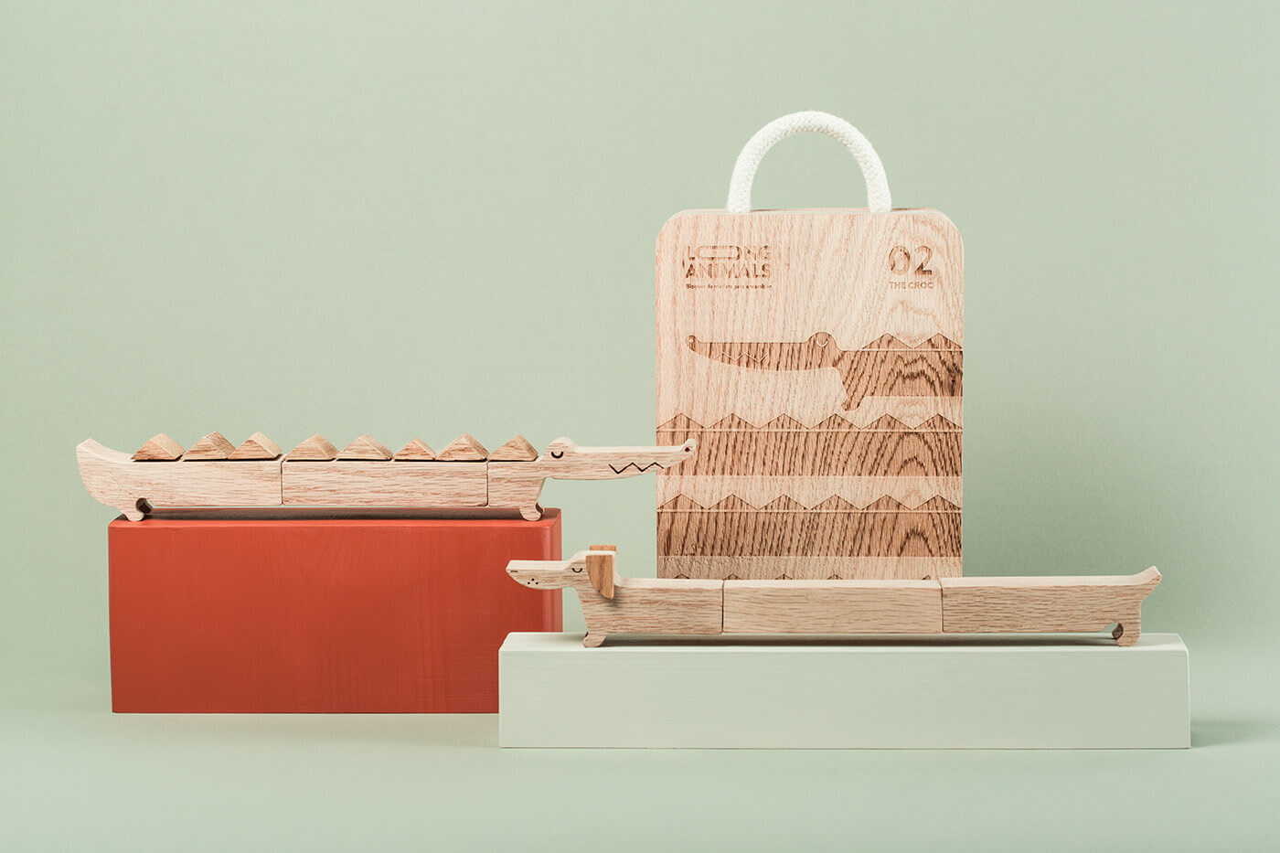 Long Animals Packaging Design Exterior