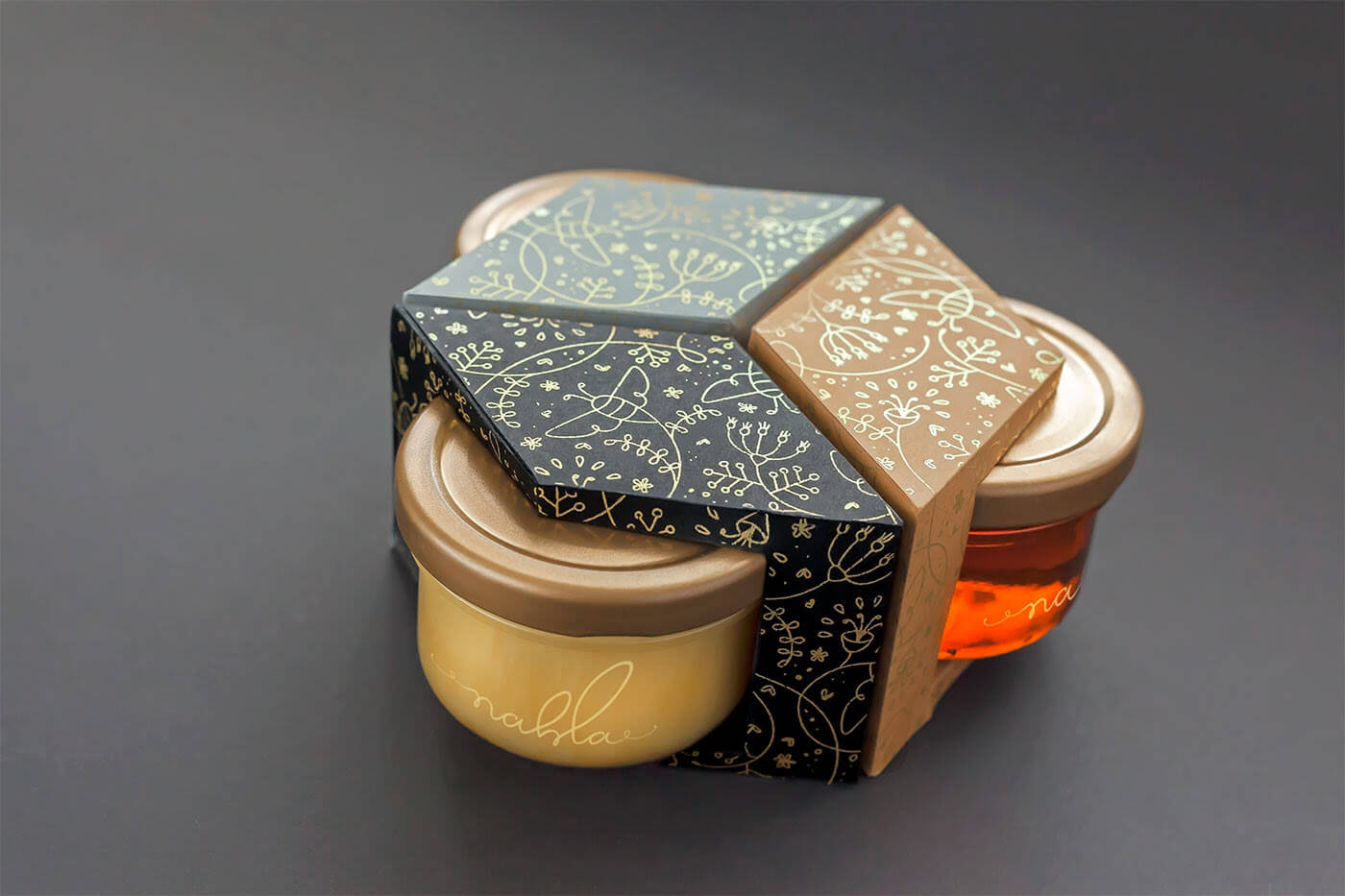 Nahla Honey Packaging Detail
