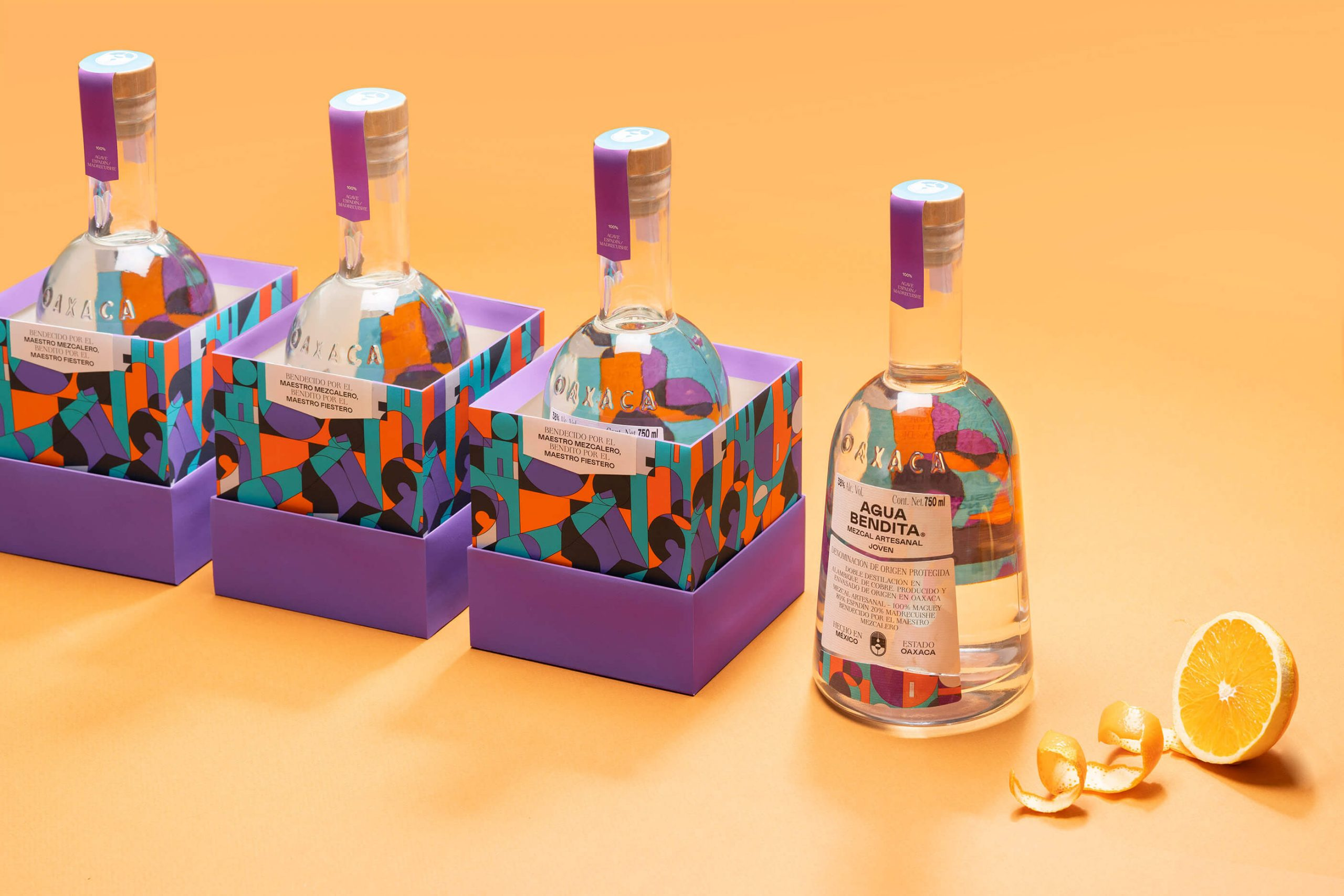 Agua Bendita Packaging Design